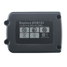 2 Pack 10.8V Max Lithium ion Replacement Battery for Dewalt Dcb120 Dcb127 Dcb121