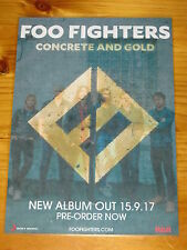 Foo Fighters - Concrete And Gold - Laminated Promotional Aus Poster