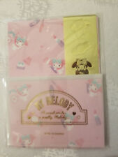 Sanrio My Melody Mini Stationery Set With Gold Stickers