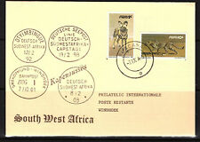 South West Africa Cover Ruacana 31.10.1985 Philatelic Cover