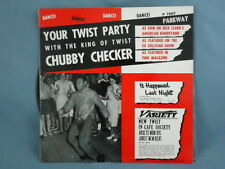 CHUBBY CHECKER YOUR TWIST PARTY VTG Vinyl LP PARKWAY P7007 COVER M-/VG RECORD