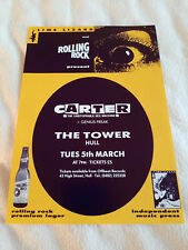 More details for carter usm (the unstoppable sex machine) promo flyer hull tower 05/03/1991