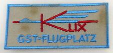 GST Abzeichen: GAT Flugplatz Klix, Aufnäher gestickt markierte Fläche GST349