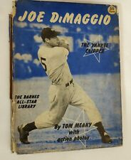 Vintage Baseball  1950 JOE DIMAGGIO The Yankee Clipper Hardback Book Rare