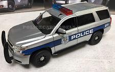 Norscot 1/24 2015 Chevy Tahoe Police SUV Demonstrator Scheme  65112