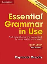 Essential Grammar In Use con Respuestas de Murphy, Raymond Libro Bolsillo 9781