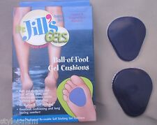 Gel metatarsal pads ball of foot comfort cushion NEW in box stick to foot re-use