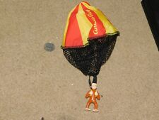 Wendy's Toy Fast Food Plastic Toy Curious George W/ Parachute