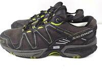 Men's Salomon Black Sensifit, Contagrip, Trail Running Shoes, US 10 M, EUR 44