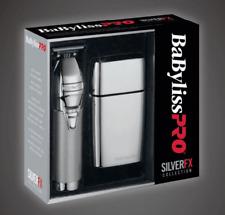 BaByliss Pro Silver FX Combo Outliner & Double Foil Shaver 110-220 Volt FXFXHOPK
