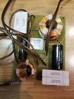 USHER S520  Stereo Bookshelf Speaker  Crossover - Tested