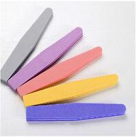 Nail Art Grit Polisher Block Buffer Sponge Buffing File Sanding Pedicure Tool JH