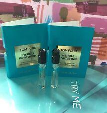 2X Tom Ford Neroli Portofino Eau DE Parfum Vaporisateur Spray, total 3ml
