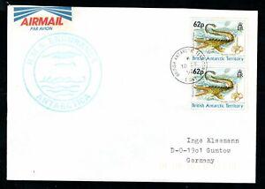 British Antarctic Territory - 1992 Signy Island HMS Endurance Cover