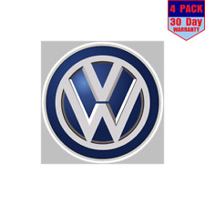 Volkswagen Car Vw Logo 4 Stickers 4x4 Inch Sticker Decal