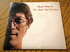 """HANK MARVIN - THE HAWK AND THE DOVE  7"""" VINYL PS"""