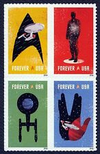#5135a Star Trek, Se-Tenant Block, Mint **ANY 4=FREE SHIPPING**