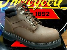 THOROGOOD TG MEN SIZE 11 M LIGHT WEIGHT SPORT EH SAFETY TOE BOOTS 804-4006