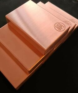 0.5kg .999 Copper Bar -Bullion Bar - Rectangle