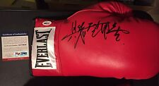 Yoko Gushiken Signed Autograph Auto Everlast Leather Lace Up Boxing Glove Psa