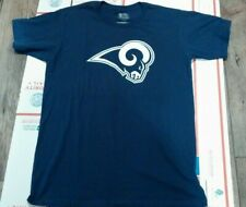Brand New Official NFL Fanatics LA Rams T Shirt Mens Sz Large Free-Shipping