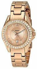 Fossil Women's ES2889 Riley Rose Gold tone Stainless Steel Watch with