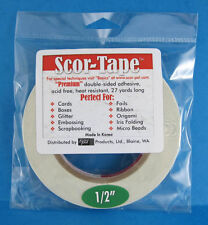 """Scor-Tape Adhesive 1/2"""" x 27yd by Scor-Pal - Value!"""