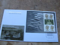 2000 GB FDC / First Day Cover -Stamp Show, Booklet Pane - Peregrine Collection