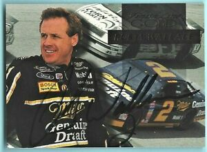 RUSTY WALLACE  -  AUTOGRAPHED - 1994 Finish Line GOLD - Card #24    [k24]