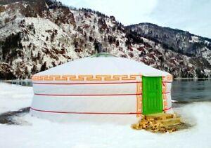 Jurta Moderne mongolische Jurte 7m Durchmesser, 39 m2 Ganzjährig Yurt