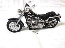 "Harley-Davidson Ertl 2004 Fatboy Model Vivid Black Replica 5"" Across, 33169HX"