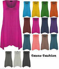 Unbranded Plus Size Scoop Neck Tops & Shirts for Women