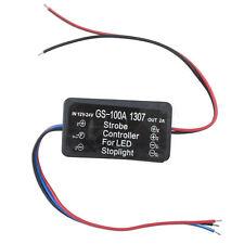 Flash Alert Controller Module 12-24 Volt Lamp Brake Strobe Light Relay