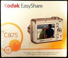 Kodak C875 Digital Camera perfect condition in box, with extras