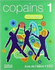 (07).COPAINS NOUVEAU 1º.ESO LIBRO (+CD+LECT) FRANCES. ENVÍO URGENTE (ESPAÑA)