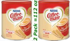 Nestlé Coffee Mate Original Powdered Creamer 56 Oz x 2 pack = 112 Oz New FREE