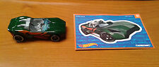 Hot Wheels Mystery Bag Carbonic Green And Sticker 01 Car Never Played with