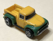 Micro Machines Rare HTF Ford F-100 1956 Pickup Yellow/Green 1994 LGTI Look!