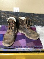Thorogood Men's Steel-Toe USA Made Work Boot 804-4374 9 D