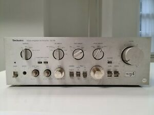 *RARE* Technics SU-V8 Stereo Integrated Amplifier Silver