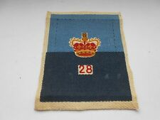 28th commonwealth brigade vintage cloth formation sign unit patch