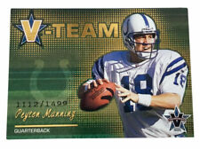 2001 Pacific Vanguard - V-Team #11 Peyton Manning Indianapolis Colts /1499