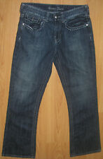 Men's or Women's Jeans Sz 33 Guess Classic 5 Pocket Boot Dark Wash Blue 33X33