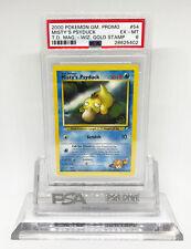 Pokemon Gym Heroes Wizard Gold Stamp Promo Misty's Psyduck 54/132 PSA 6 #8625402