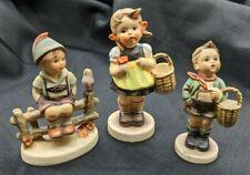 New ListingSet of 3 Goebel Hummel Figurines (Wayside Harmony, Sister, Village Boy)