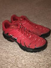 Nike Air Max TN Red/Black Trainers Size 7