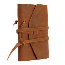 Quality Real Leather Book Cover Notebook Diary Notepad Sleeve Holder Journal