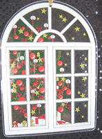 Vintage Robert Jacobsen Art Glass Christmas Suncatcher Window Hanging Germany