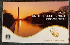 2013 Clad United States Mint PROOF SET superb Gem Original Holder with COA