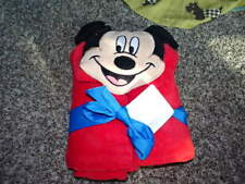 NWT NEW THE DISNEY STORE MICKEY MOUSE HOODED TOWEL